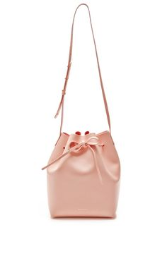 Large Bucket Bag In Rosa with Rosa Interior by Mansur Gavriel