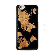 World Map Wood IPhone 6| 6 Plus Cases