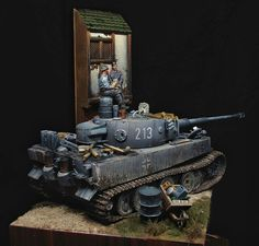 Pz.Kpfw VI Tiger you can clearly see nice modulation on this model!!!