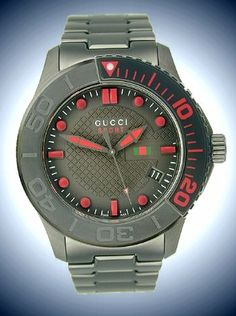 23ba9a549c7 Gucci Classic Sport Black Dial Mens Watch