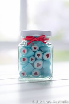 Just Jars - 190ml square jar (with lid)