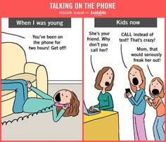 Who even calls anymore? (Created for Babble by Hedger Humor)