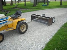 Click image for larger version Name: box Views: 1342 Size: KB ID: 102921 Riding Mower Attachments, Garden Tractor Attachments, Atv Attachments, Tractor Snow Plow, Lawn Trailer, Homemade Trailer, Tractor Accessories, Tractor Implements, Road Construction