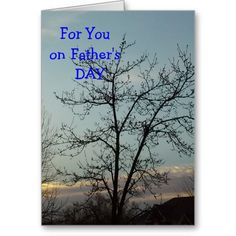For You On Father's Day Card