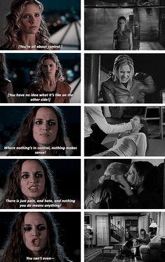 Buffy the Vampire Slayer Buffy and faith