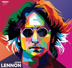 John Lennon by Bryanlomi