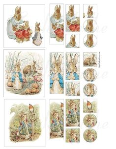 Beatrix Potter -The Tale of Peter Rabbit  My mother read all the books of B.P. to us when we were little.  I did the same for my children.  I just love them all.
