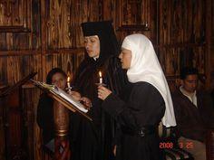 Orthodox nuns in Ecuador