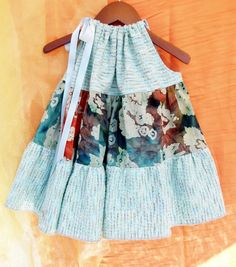 Cool batik! Girls Dress, Cottage, Country, Hippie, Boho Chic 12M - 6T Spring Summer. $46.00, via Etsy.