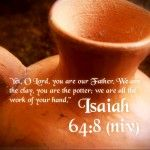 Having Inspirational Bible Verses Wallpaper for Your Personal Computer:Inspirational Bible Verses Wallpaper Isaiah 64 – 8