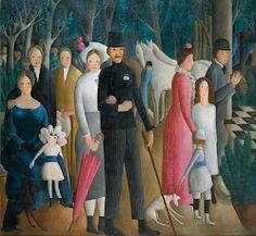 untitled painting by Olga Sacharoff Georgian-born Spanish (ymutate) Spanish Painters, Spanish Artists, Dutch Artists, Canadian Artists, Australian Artists, Art Deco Artists, Artist Art, Mexican Artists, Italian Artist