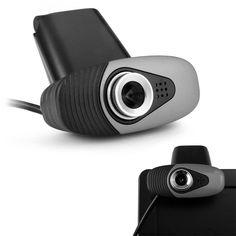 Universal USB Clip-on Laptop Desktop Web PC Camera Webcam with a Mic for Skype #UnbrandedGeneric