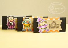 Halloween Treats Wrapper, Created by Torico