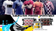 One-stop Sublimation Printing Solutions: Sublimation Transfer Printing & Direct to Textile . Textile Prints, Textiles, Epson Inkjet Printer, Digital Technology, Company Names, Transfer Printing, Large Format, Printers, Blog