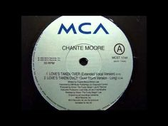 Chante Moore - Love's Taken Over (Extended Vocal Version)