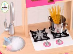 DIY Play Kitchen Part 1: Burners