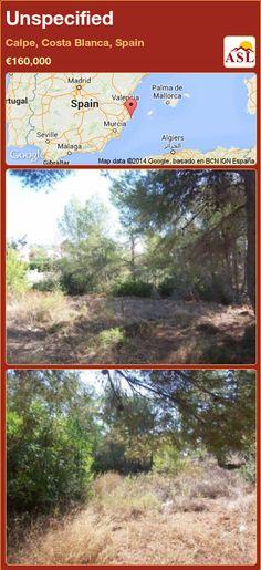 Unspecified in Calpe, Costa Blanca, Spain ►€160,000 #PropertyForSaleInSpain
