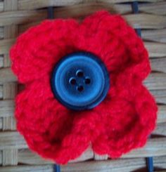 Poppy freebie pattern. Simple is sometimes the best, nice share: thanks so xox
