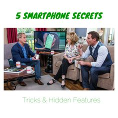 5 Smartphone Secrets: Tricks & Hidden Features http://www.cyberguy.com/5-smartphone-secrets-tricks-hidden-features/ #ios8 #iphone #android #batterylife #photos @homeandfamilytv