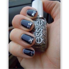 Black With Glitter? YES