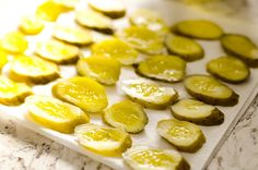 Airfryer Parmesan Dill Fried Pickle Chips are a quick and easy appetizer made extra crunchy in your Airfryer without all the fat from oil. This low-fat snack is sure to satisfy your craving for something salty! Air Fryer Recipes Pickles, Power Air Fryer Recipes, Air Fryer Oven Recipes, Fried Pickle Chips, Dill Pickle Chips, Ww Recipes, Cooking Recipes, Ninja Recipes, Air Fryer Chips