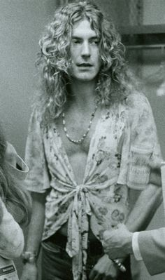"Robert Plant, whom my grandmother thinks looked like a ""really cool guy"" and ""a Viking."" Hahaha, you got it."