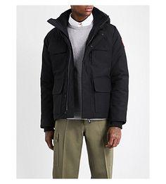 CANADA GOOSE Maitland hooded shell parka jacket. #canadagoose #cloth #