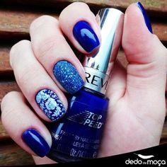 unha azul