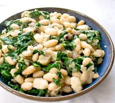 beans amp greens with cannellini beans amp kale simple italian bean ...