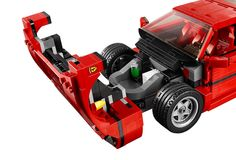 LEGO's Ferrari F40 Has A Removable Engine