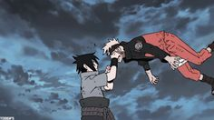 Sasuke vs Naruto - the final battle - gif Naruto Vs Sasuke, Naruto Gif, Naruto Fan Art, Naruto Shippuden Anime, Boruto, Sakura And Sasuke, Sasunaru, Naruto Funny, Narusasu