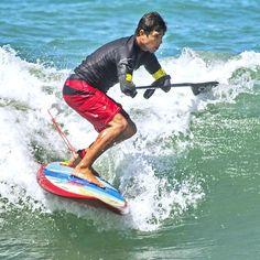 Amazing Paddleboard Surfer Jonas Letieri prepping for Ocean Fest San Clemente, CA  2016 Photo Credit:  Michael Goulding, OC Register