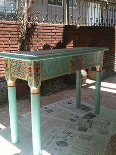 side, varnishing
