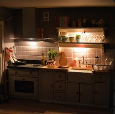 My miniature kitchen by night | by koronka-m