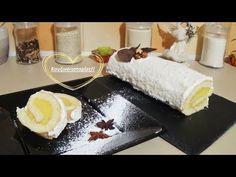 Λευκός χριστουγεννιάτικος κορμός με πορτοκάλι !! - YouTube Christmas Art, Christmas Ideas, Food Processor Recipes, Sushi, Wedding Cakes, Lemon, Sweets, Cheese