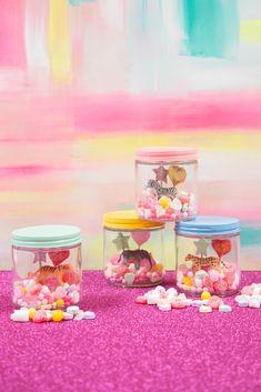 a valentine's day candy terrarium / oh joy!