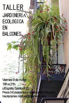 #Madrid TALLER DE #JARDINERÍA ECOLÓGICA ecoagricultor.com