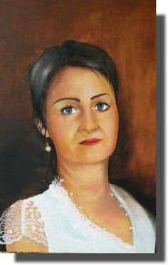Portrét, olej na plátne Painting, Painting Art, Paintings, Painted Canvas, Drawings