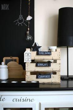 inspiration recyclage cagettes pour rangement placard