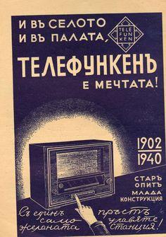 TELEFUNKEN radio advertising