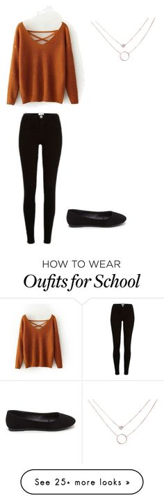 """Outfit for School"" by sjamil on Polyvore featuring River Island"