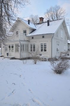 white farmhouse my little dream house