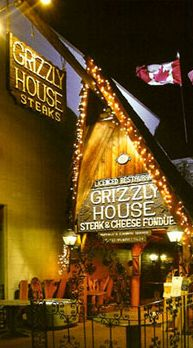 My favorite restaurant in Banff, Alberta. Enjoy delicious fondue at the Grizzly House on your next trip to Banff!