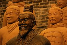 Terra Cotta Warriors in Xi'an, China...my daughter's birthplace.