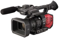 Panasonic Handheld Camcorder with Four Thirds Sensor and Integrated Zoom Lens- I see this being a useful event/ running doc cam. Possibly good for one man band shoots 35mm Camera, Best Camera, Instax Camera, Camera Tripod, Camcorder, Handheld Camera, Canon, Camera Deals, Camera Equipment