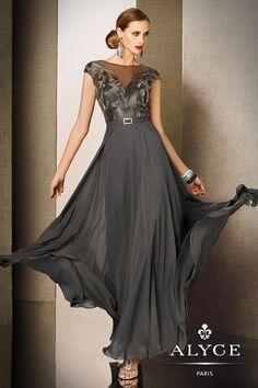 Elegant Cap Sleeve Evening Gown 5613 from SIMPLE ELEGANCE  $418