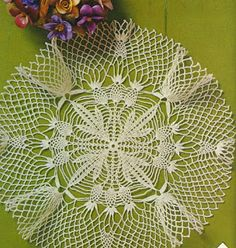 World crochet: Napkin 135