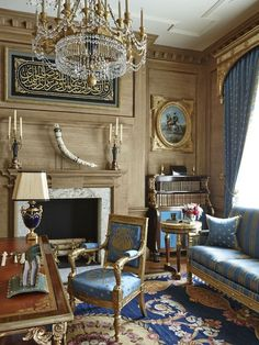 Beautiful room by legendary designer, Alberto Pinto