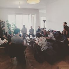 #startup #sales workshop at our temporary berlin office
