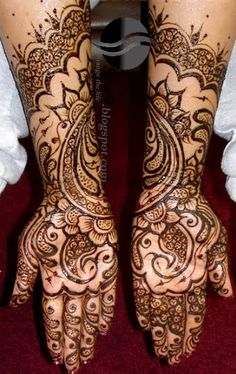 Latest Mehandi Designs and Patterns